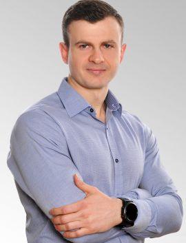 Rezydent w zakresie ortopedii i traumatologii narządu ruchu lek. med. Marcin Tusiński